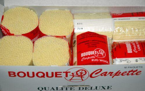 PICK n CHOOSE Lot x 16 PreCut RUG Latch Hook Yarn 100/% Pure Virgin Wool DELUXE