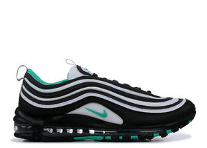 Details about Nike Air Max 97 Shoes 921826 013 BlackClear Emerald White Mens Sneakers