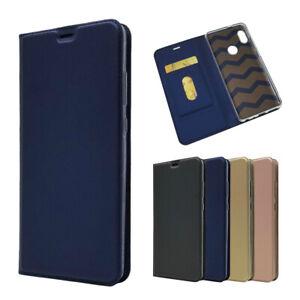 Pour-Xiaomi-Redmi-Note-5-Pro-Magnetique-PU-Cuir-Flip-Case-AntiChoc-Carte-Housse