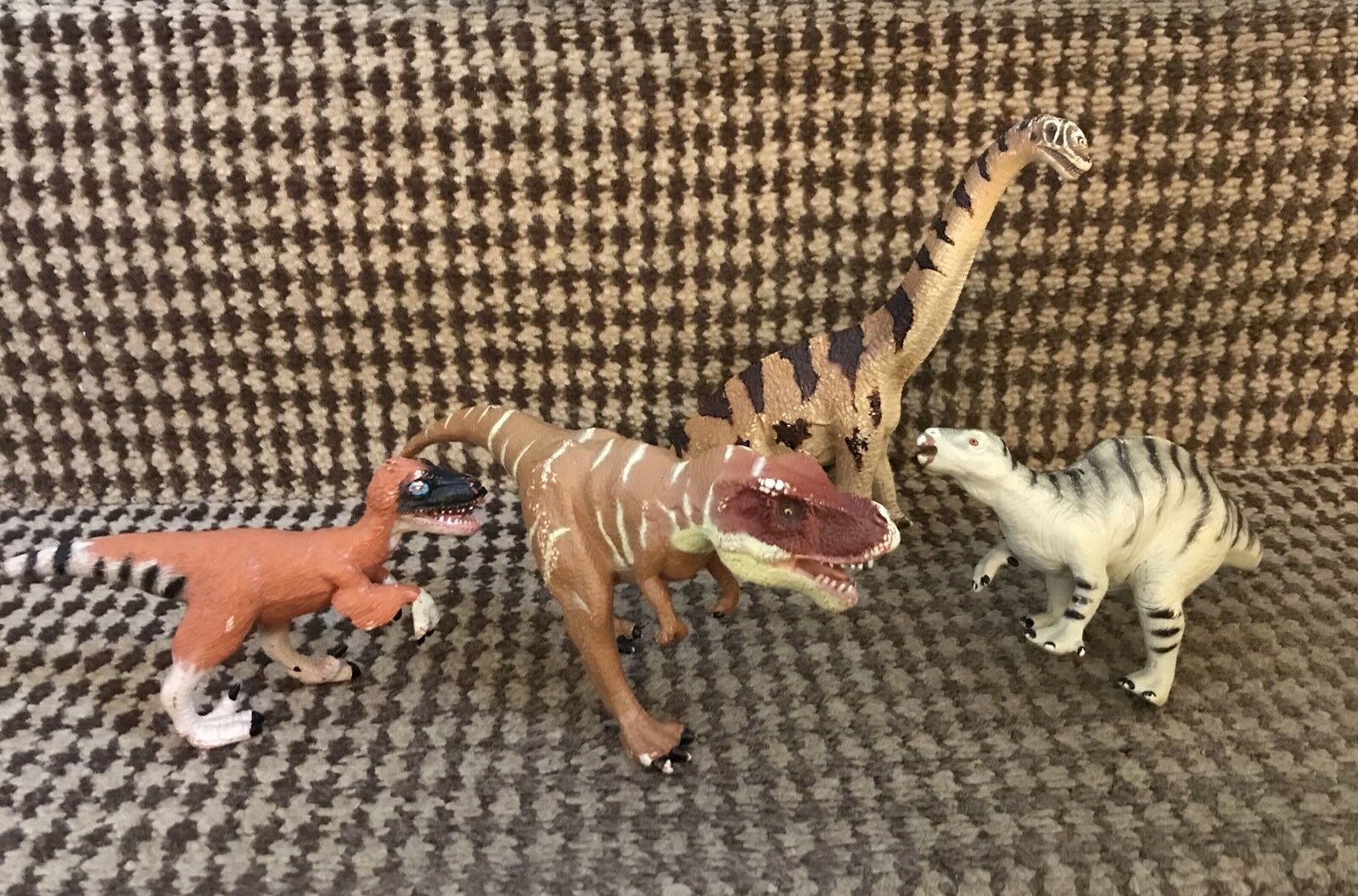 Collectin Of  Dynosaur Action Figure Toy Including K&M
