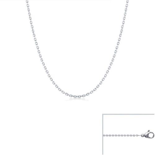 CHAINE Maille FORCAT Acier Inoxydable 35cm 2,3mm Qualité Bijouterie