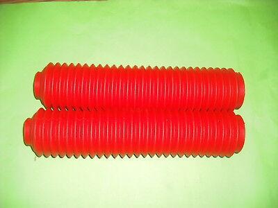 for Honda XR600 1985-08 Red Pair of Fork Gaiters