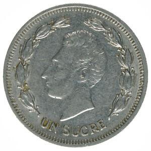 Ecuador-Un-Sucre-1977-A45735