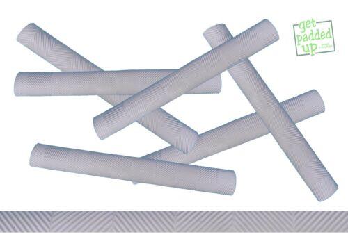 getpaddedup Chevron Cricket Bat Grip Single Colour White