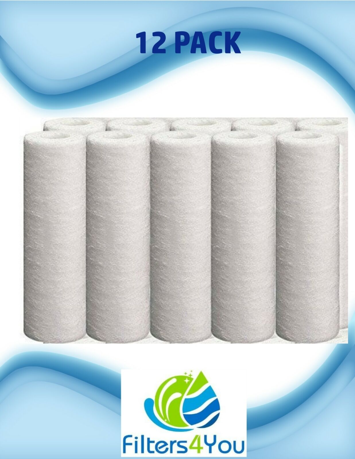 Fits Culligan S1A Whole House Standard Water Filter 16,000 Gallons 12-Pack