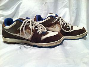 2008 NIKE 6.0 Sneakers Size U.S. 12 Brown/White/Blue