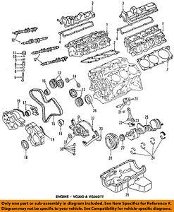 Nissan OEM-Motor Correa Dentada 1302845P86 | eBayeBay