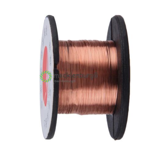 2PCS 0.1MM Copper Soldering Solder PPA Enamelled Repair Reel Wire Roll Weld Wire