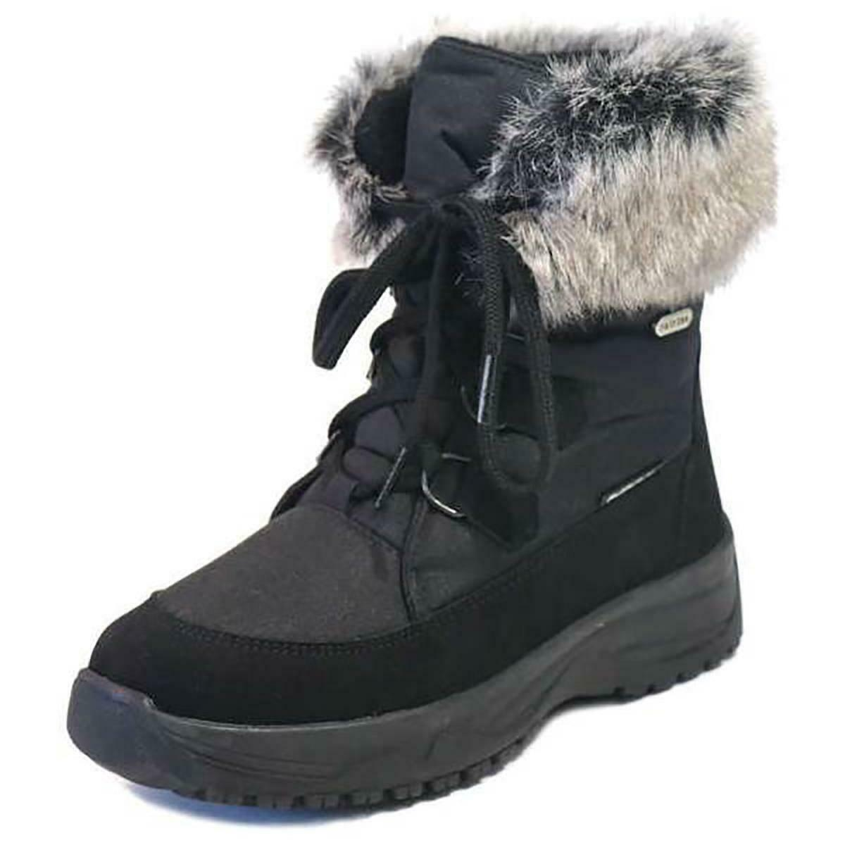 Mammal Victoria OC zwart Womannens Winter Snow laarzen Anti Slip Spikes EU 38  UK 5