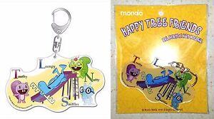 Happy Tree Friends Big Acrylic Key Chain Toothy Lumpy