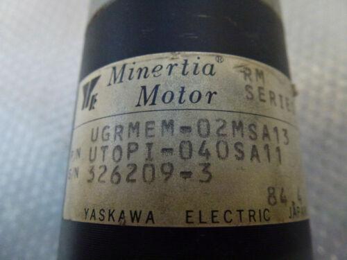 UTOPI-040SA11 RM Series Servo Motor Details about  /Minertia//Yaskawa UGRMEM-02MSA13