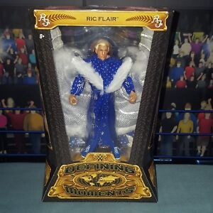 Ric-Flair-Elite-Defining-Moments-New-Boxed-WWE-Mattel-Wrestling-Figure