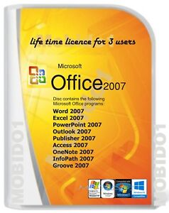 Microsoft-Office-2007-Word-Excel-PowerPoint-Outlook-Etc-Full-version-DVD-for-3P