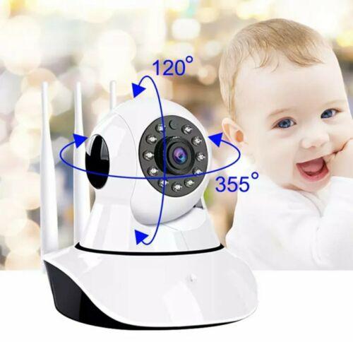 1080P Caméra de Surveillance Sans fil Vision Nuit claire Sécurité intérieureWifi