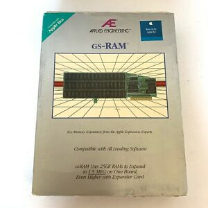Applied-Engineering-AE-GS-RAM-Memory-Expansion-for-Apple-IIGS-With-Manual-amp-Disk
