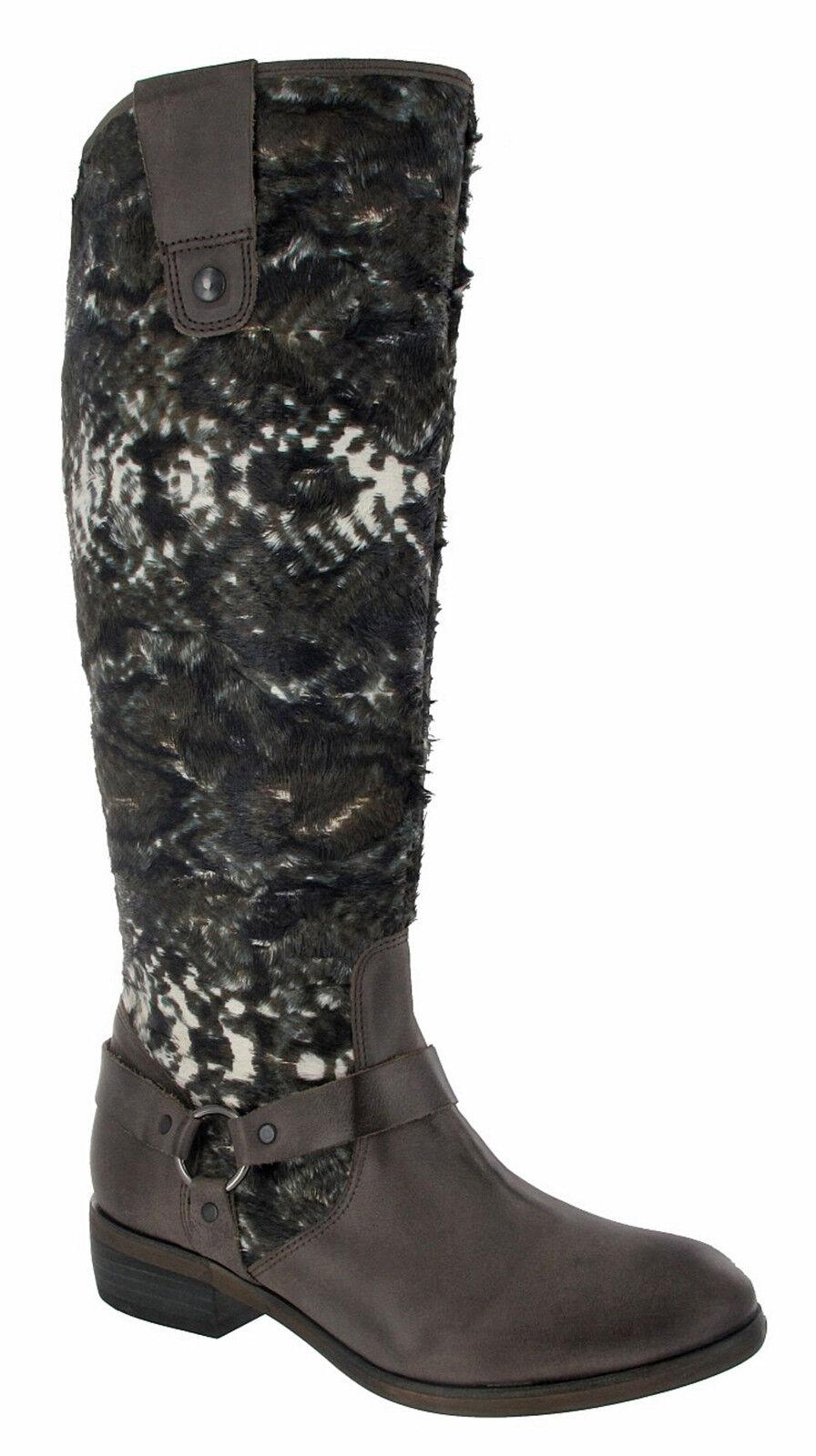 Zapatos especiales con descuento LAZAMANI Damenstiefel  Bird 57.135 - grau-multi