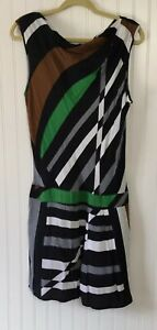 Derek-Lam-For-Design-Nation-Women-s-Size-10-Striped-Sleeveless-Dress