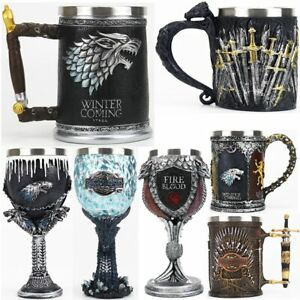 Game of Thrones Mug tasse coup Iron Throne acier inoxydable Stainless Steel Cup