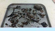 1974 suzuki ts185 enduro S577~ misc hardware nuts bolts ect