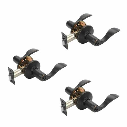 Contractor Packs Oil Rubbed Bronze Dynasty Hardware Heritage Lever Privacy Set