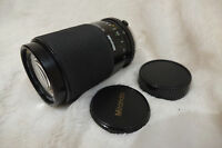 Optics great Olympus OM Miranda 70-210mm f4.5-5.6 Telephoto Macro Zoom Lens r3