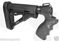 Mossberg 500/590/Maverick 88 12 GA Tactical Shotgun Stock w/buttpad+Pistol Grip