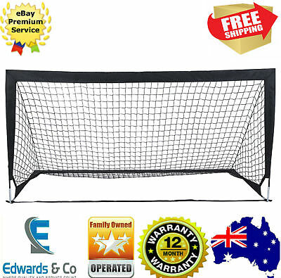 Kids Soccer Practice Goal Net Stakes Large 2m Sport ...