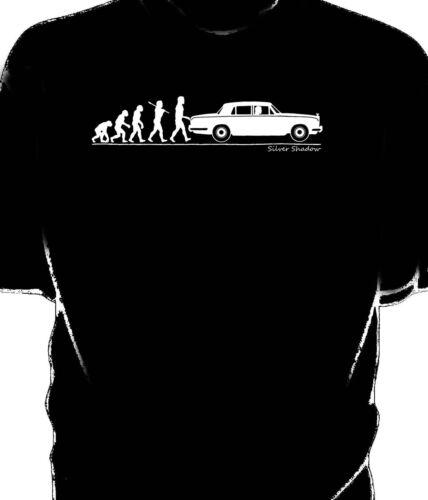 Rolls Royce Silver Shadow t-shirt. Evolution of Man