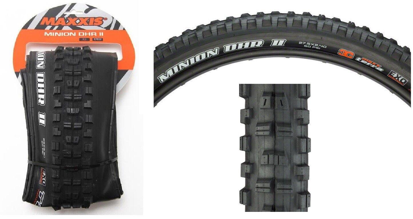 Maxxis Minion DHR II 27.5  x 2.4, 60tpi, 3C EXO TR Terra Foldable MTB bike Tire  waiting for you