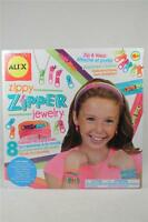 Zippy, Zipper Jewelry By Alex - 2 Zipper Headband, Bracelet, Earring++ 177e