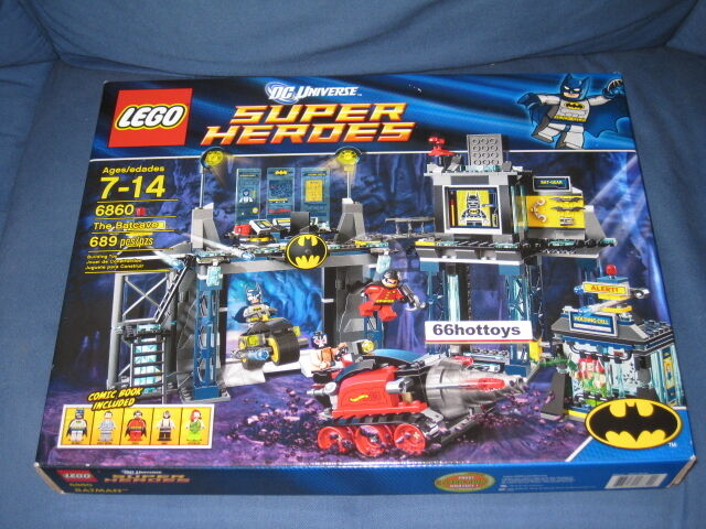 LEGO DC SUPER HEROES HEROES HEROES 6860 THE BATCAVE Lego 6860 NEW d999a4
