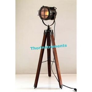 Photography studio floor lamp searchlight spot light for Winston studio spotlight floor lamp on tripod