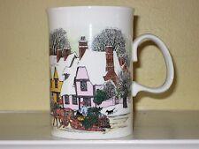 Dunoon CHRISTMAS PAST Bone China Mug Made in England Sue Scullard Design NEW