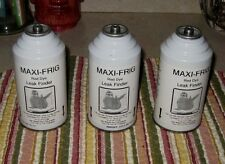 MAXI-FRIG red dye Leak finder  3 cans air conditioning NEW