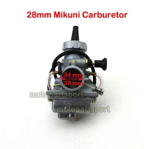 Mikuni 28mm Carburetor For YAMAHA YZ80 Blaster 200 YFS200 1988-2001 Dirt Bike