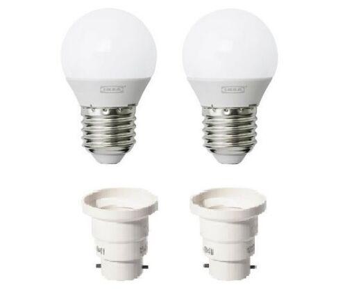 2 E27 bulb converter 902.956.15 2 x 3W LED bulb E27 200 lumen RYET 503.265.72