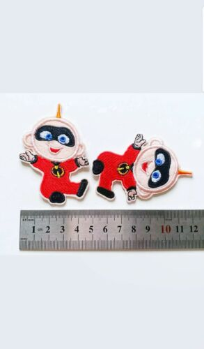 "Baby Jack The Incredibles 2 Movie Embroidered Iron On Patch 2.00/"" X 2.75/"""