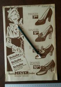 Kataloge KöStlich Werbung Reklame Papier Katalog Friedrich Meyer Zwickau Schuhe 1935 Spiess Zidruk