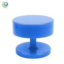 New Round Magnetic Dental Lab Bur Holder Stand Station Blue Holds Fg Amp Ra Burs