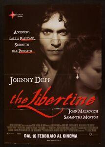 Poster The Libertine Laurence Dunmore Johnny Depp Morton Malkovich M290