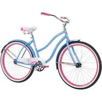 Women Cruiser Bike 26 Inch 1 Speed Womens Beach Bicycle Steel Frame