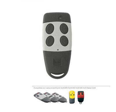 TELECOMANDO RADIOCOMANDO TRASMETTITORE CARDIN S449 TX2 QZ//2 ORIGINALE 433.92