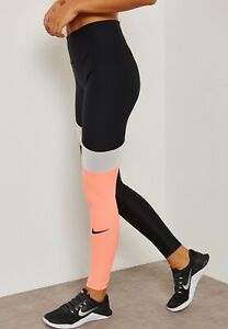 Womens-NIKE-POWER-VICTORY-Tight-Fit-Leggings-Size-Small-891926-010