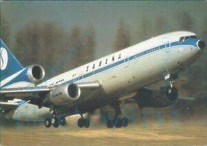 SABENA Belgian World Airlines DC10 ALBE 138m Colour postcard