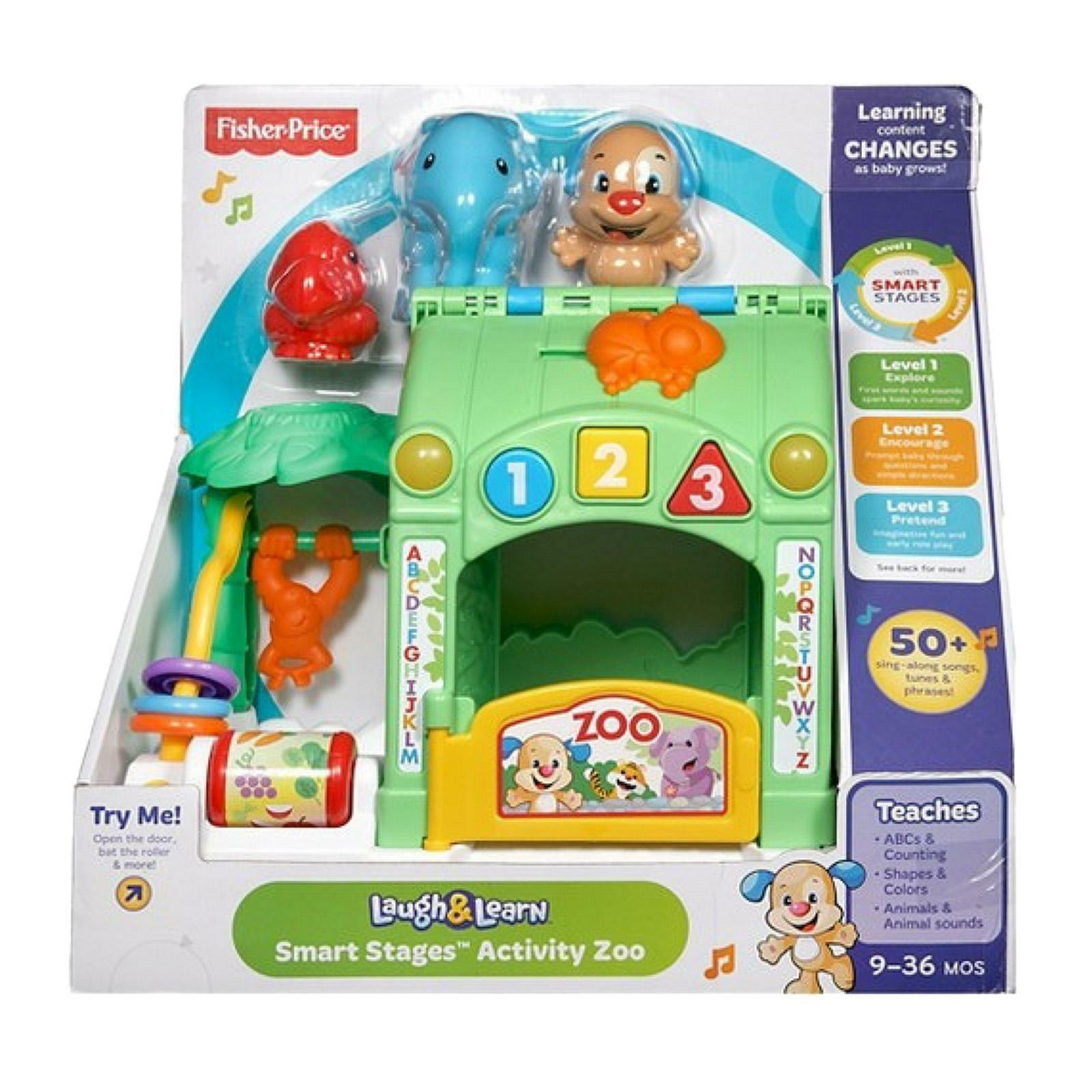 Fisher Price Laugh & Learn Smart Stages Activity Zoo CGV25 NEW