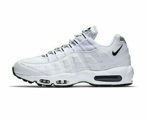 Nike-Air-Max-95-White-Multi-Size-US-Mens-Athletic-Running-Shoes-Sneakers