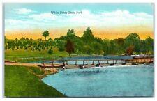Mid-1900s White Pines State Park near Dixon, IL Postcard