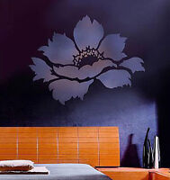Tree Peony Wall Stencil - Flower Stencils For Diy - Great Wall Stencils For Less