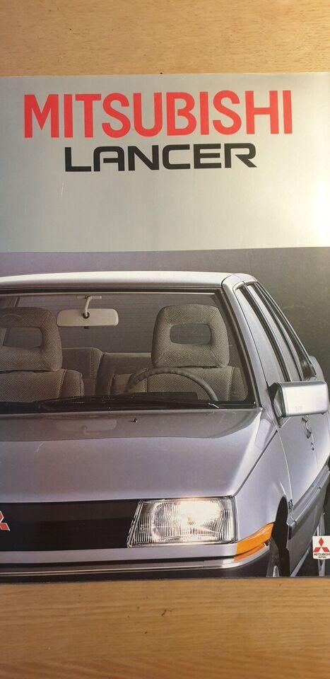 Brochure, Mitsubishi Lancer