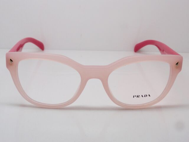 74629997e088 PRADA Women s Pink Glasses With Case VPR 21s Uew-1o1 53mm for sale ...